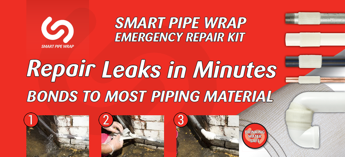 Smart Pipe Wrap Emergency Repair Kit